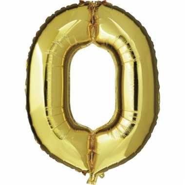 0 jaar geworden cijfer ballon