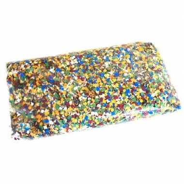 10 kilo gekleurde confetti