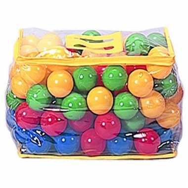 100 ballen voor in ballenbak in tas