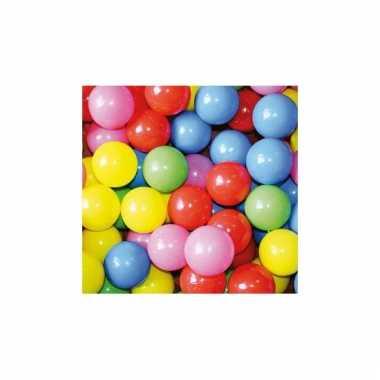1000 stuks ballen voor in ballenbak kleurenmix
