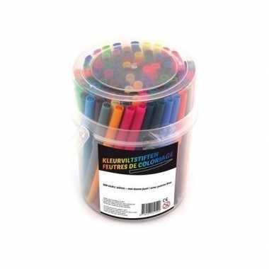 100x gekleurde stiften
