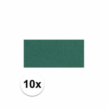 10x crepla plaat groen 20 x 30 x 0,2 cm