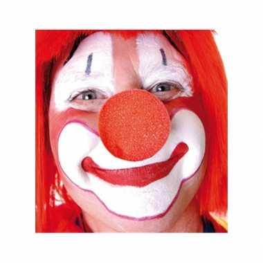 10x opzet clownsneuzen rood