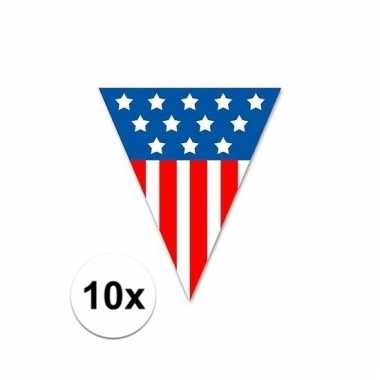 10x united states vlaggenlijn