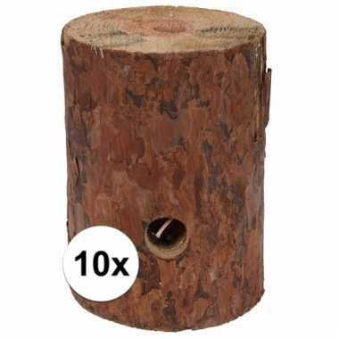 10x zweedse fakkel 20 cm