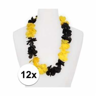 12x hawaii slinger geel/zwart