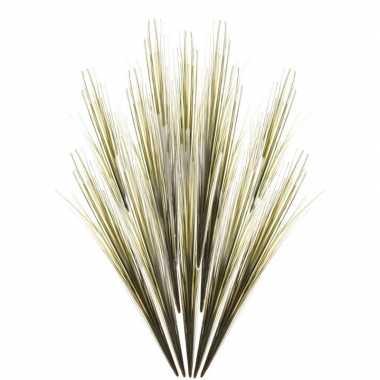 12x kunstplant gras takken 58 cm