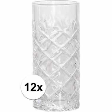 12x longdrink glazen 250 ml