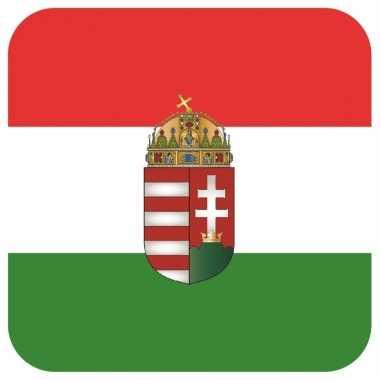 15 vierkante bierviltjes hongarije thema