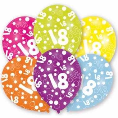 18 jaar thema ballonnen