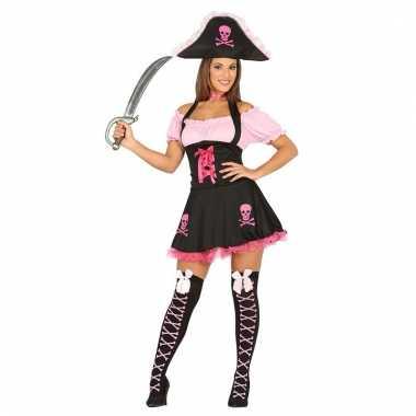 2 delige verkleedset piraat voor vrouwen