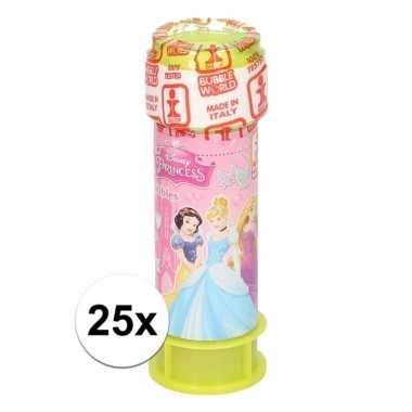 25x bellenblaas disney princess