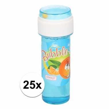 25x voordelige bellenblaas sinaasappel geur