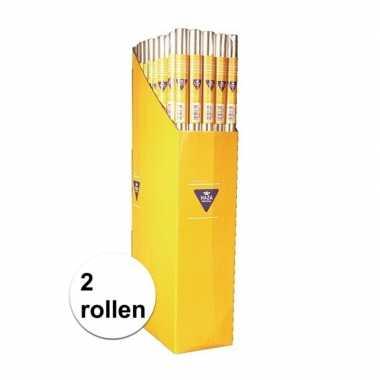 2x rollen foliepapier van 70 x 500 cm