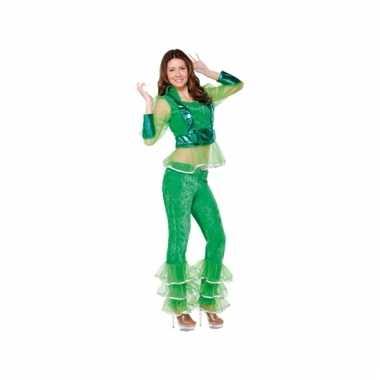 Abba look-a-like kostuum groen