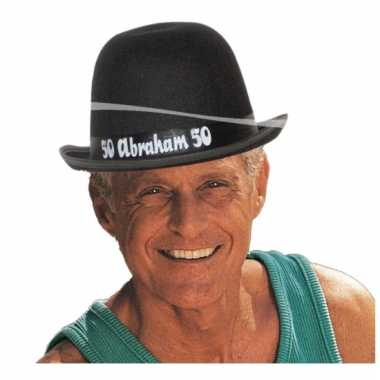 Abraham 50 jaar pop hoed