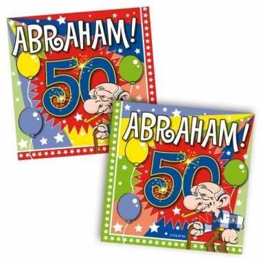 Abraham feest servetten