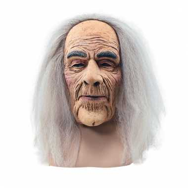 Abraham maskers met lang haar