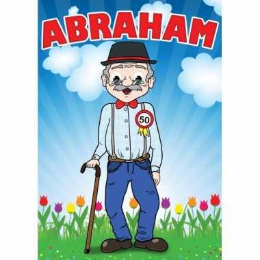 Abraham mega deur posters