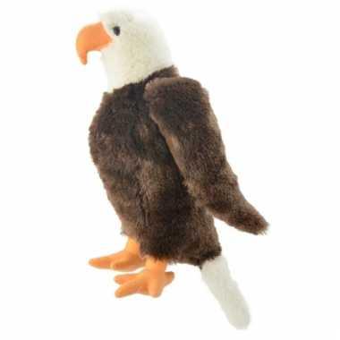 Adelaar roofvogel knuffeltje 35 cm