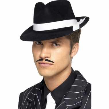 Al capone hoeden zwart