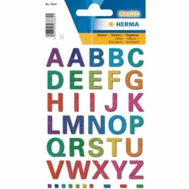 Alfabet stickers 42 letters