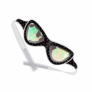 Alien bril / oogmasker voor volwassenen