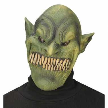 Alien masker groen voor volwassenen