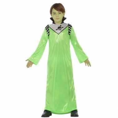Alien zharor kostuum voor jongens
