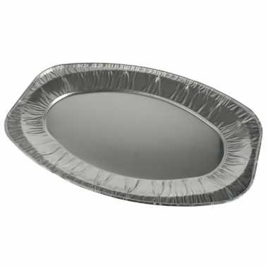 Aluminium wegwerp schaal 3 stuks