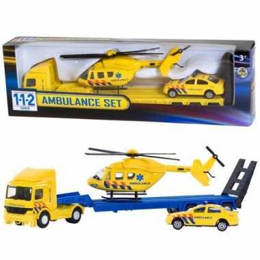 Ambulance vrachtwagen set