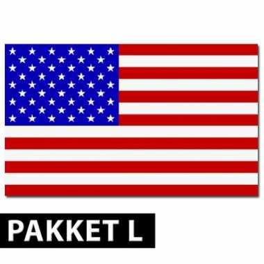 Amerikaanse decoratie pakket groot