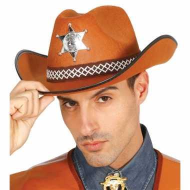 Amerikaanse sheriff hoeden