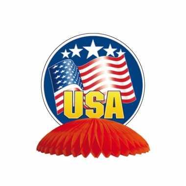 Amerikaanse tafel decoratie