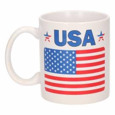 Amerikaanse vlag koffiebeker