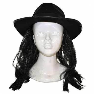 Amish pruik met hoed