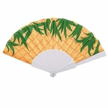 Ananas waaier 23 x 40 cm
