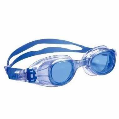 Anti chloor zwembril blauw voor jongens