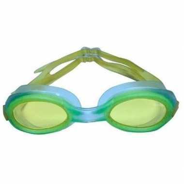 Anti chloor zwembril geel voor kinderen