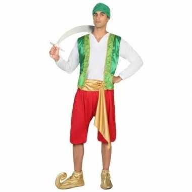 Arabische strijder amir verkleed kostuum voor heren