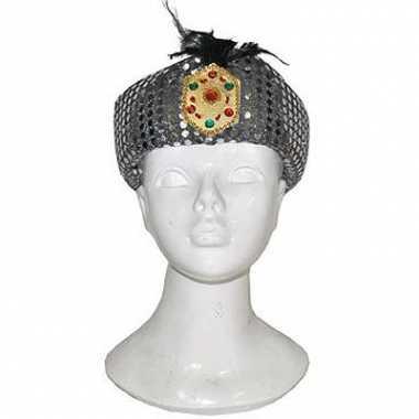 Arabische zilveren tulband