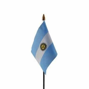 Argentijnse landenvlag op stokje