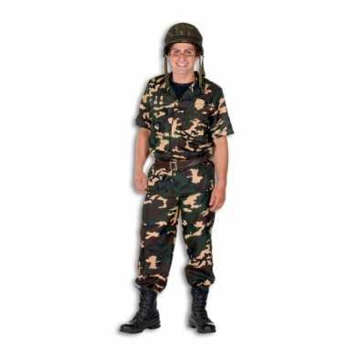 Army verkleedkleding voor heren