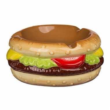 Asbak hamburger 11 cm