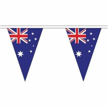 Australie landen punt vlaggetjes 5 meter