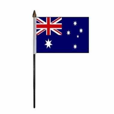Australische landenvlag op stokje