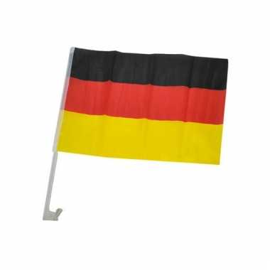 Autoversiering supporters vlag duitsland