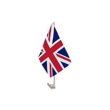 Autovlaggen union jack groot brittannie