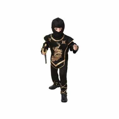 Aziatische strijder kostuum voor kids