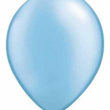 Azure blauw qualatex ballonnen